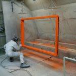 焼付塗装 指定オレンジ