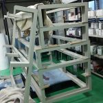 粉体塗装 架台